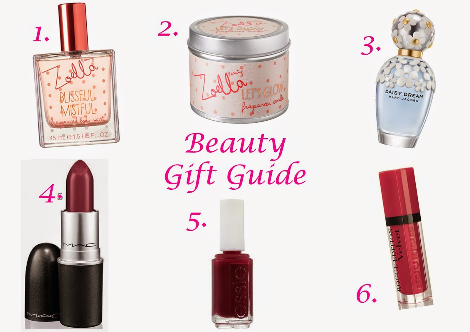 Christmas gift ideas zoella beauty