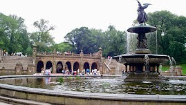 Bethesda Terrace and Fountain by Central Park Pedicab Tours