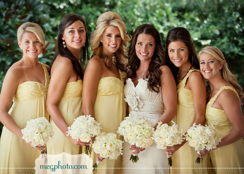 Greer Loves Lemon Wedding Inspiration Bridesmaid Dresses