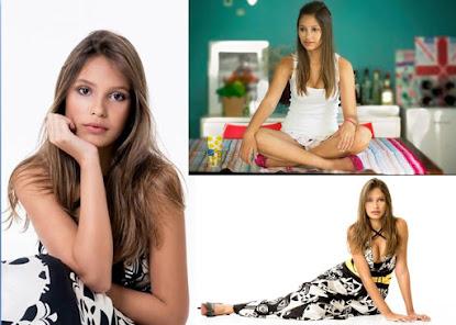 A modelo Lavínia Beatriz estampa a capa da Revista Fucast Internacional e começa a conquistar seu e
