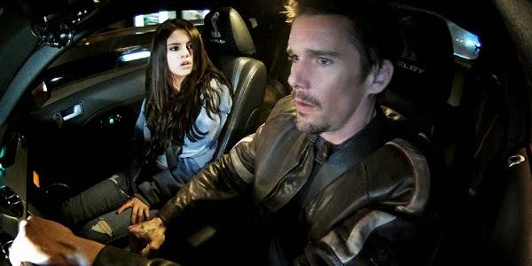 Selena Gomez e Ethan Hawke em RESGATE EM ALTA VELOCIDADE (Getaway)