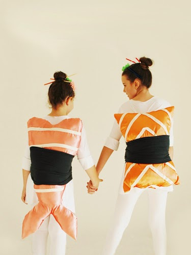 1 the sushi couple - Halloween Food Costume