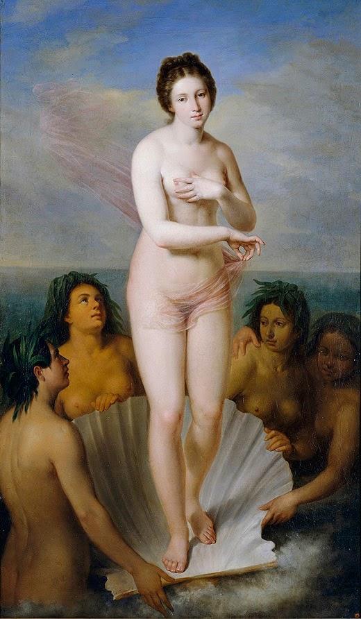 El nacimiento de Venus (Antonio María Esquivel y Suárez de Urbina, 1838)