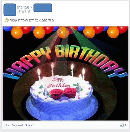 Digital Dust Death In Facebook Facebook And Death Part Two Happy Birthday Wishes For Wall