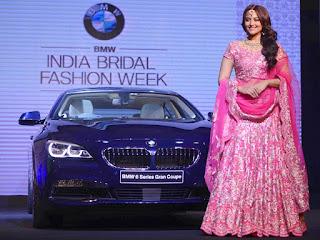 BMW India Bridal Fashion Week 2015 is Ready To Start | Sonakshi Sinha for BMW India Bridal Fashion Week 2015