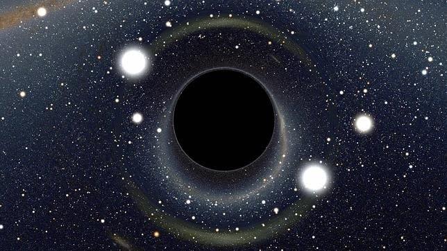 Singularidad gravitacional donde el tiempo deja de existir.
