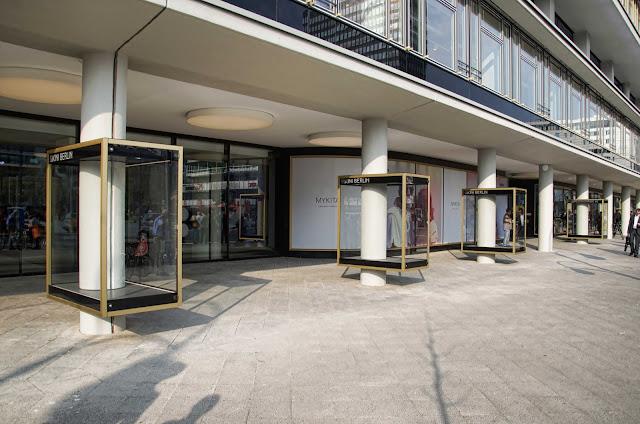 Baustelle Eröffnung Bikini-Haus, Budapester Straße, 10787 Berlin, 03.04.2014