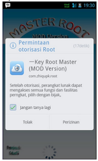 Root Mudah Andromax G Tanpa PC with Key Root Master