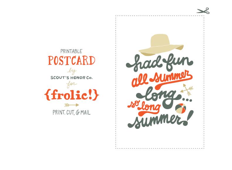 wydrukowanie pocztówki