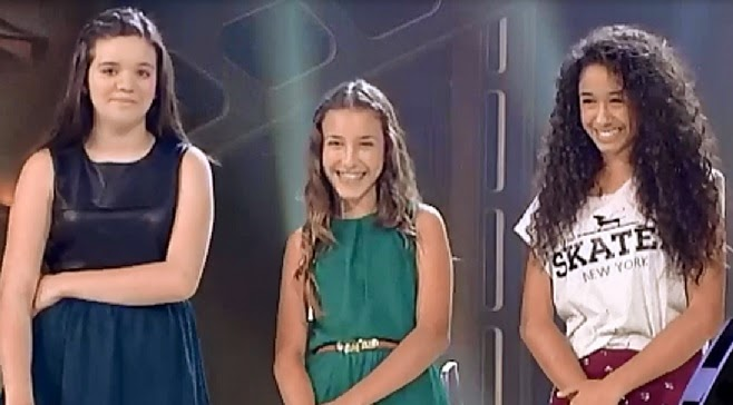 Eva ruiz elena y laura la voz kids when love takes over - Elena alberdi ...