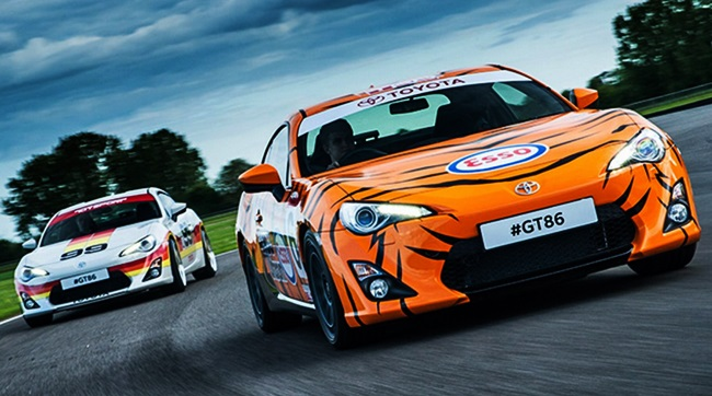 GT86s Get Classic Toyota Race Liveries