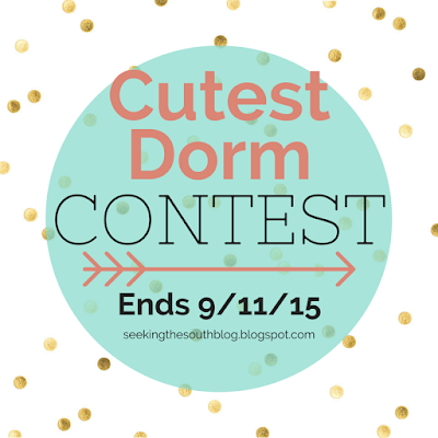 Cutest Dorm Contest - seekingthesouthblog.blogspot.com