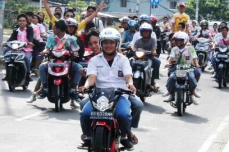 Lulus UN. Kotabumi Lampung Utara