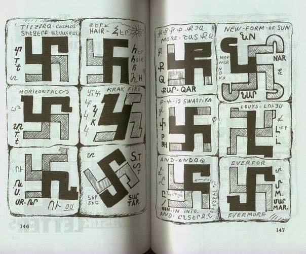 tulisan Swastika kuno