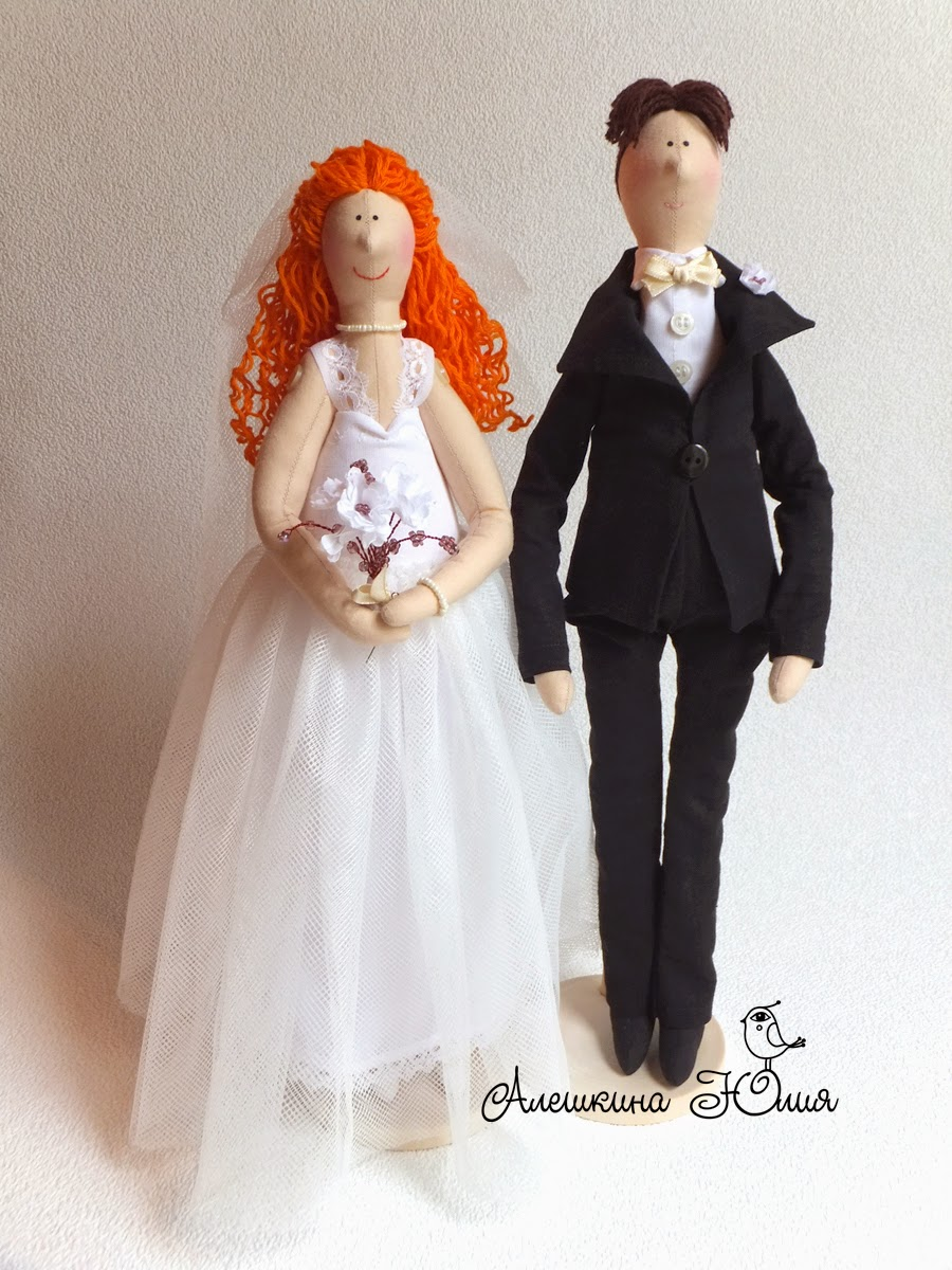 куклы в подарок на свадьбу