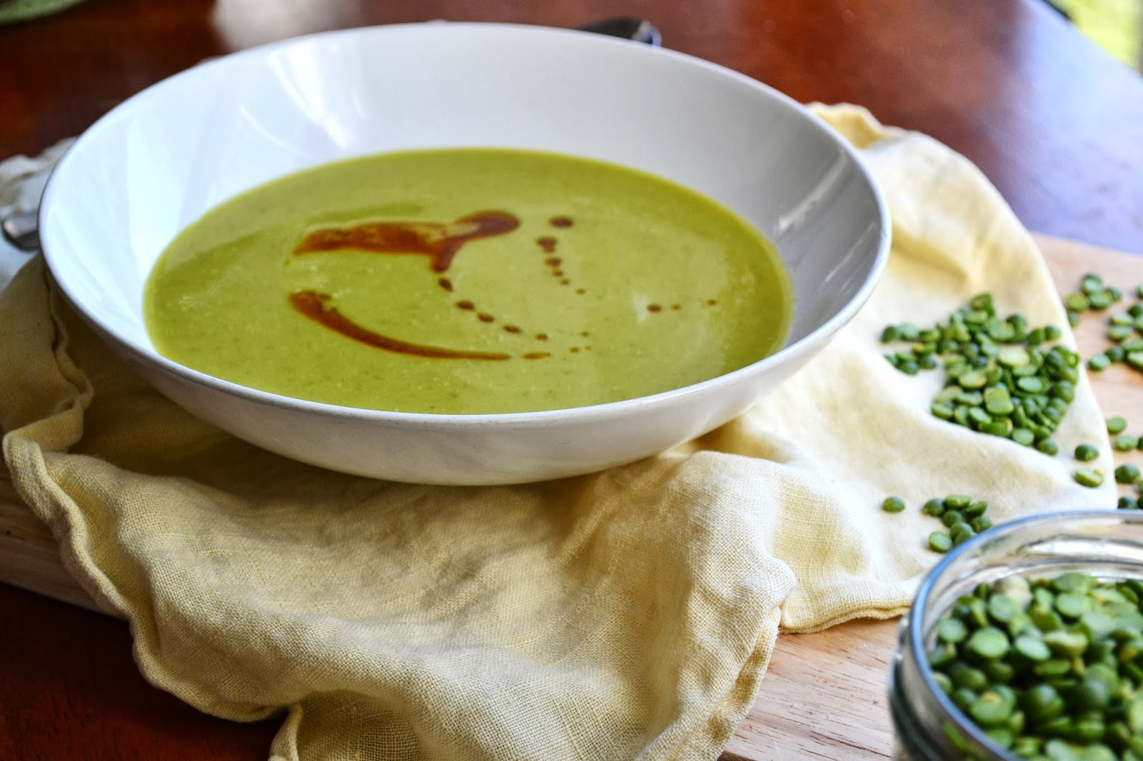 Nourish The Roots: Coconut Split Pea Soup
