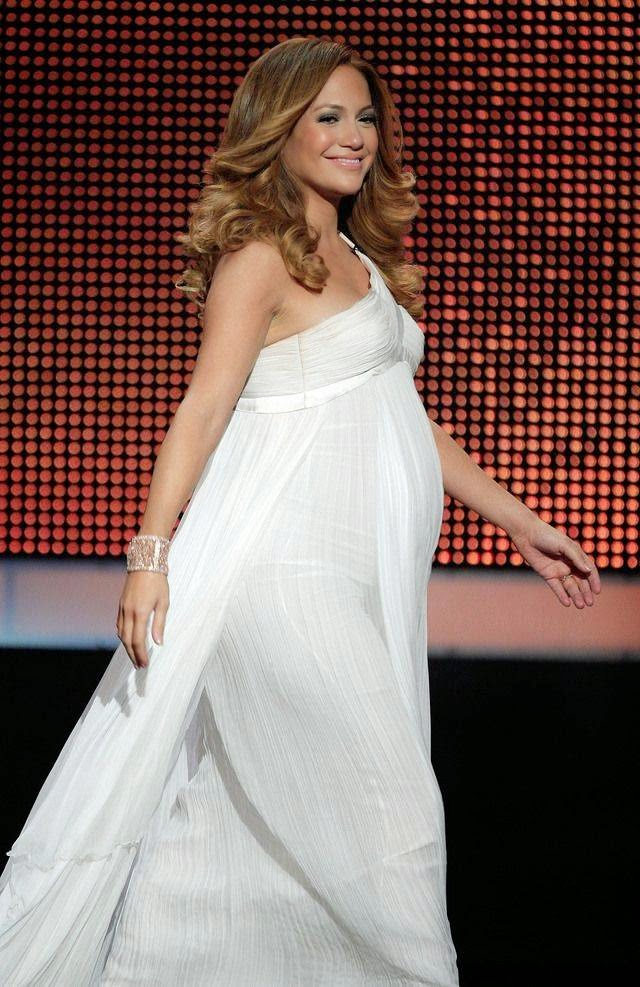 Pregnant Jennifer Lopez During Pregnancy