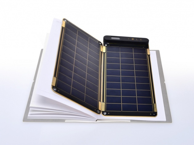 Solar panels to charge your mobile
