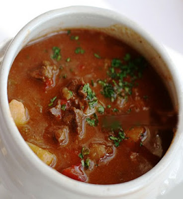 German goulash soup recipe