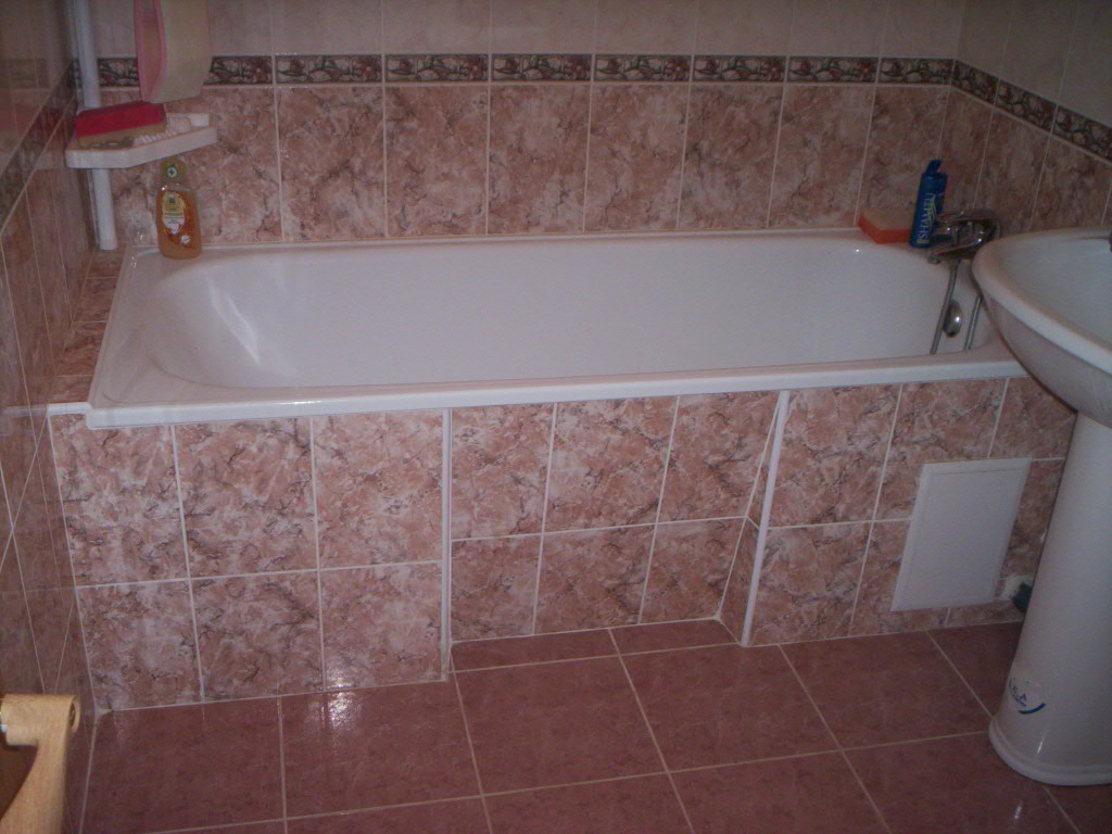 Ремонт ванной комнаты не плиткой своими руками