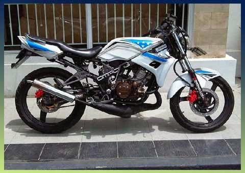 Foto Motor Ninja Balap 150 RR