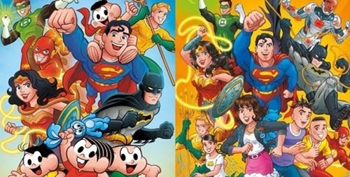 Turma da Mônica terá crossover com a Liga da Justiça