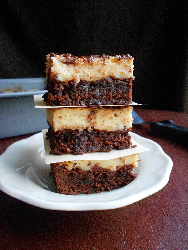 Culinary Couture: Cappuccino Cheesecake Brownies