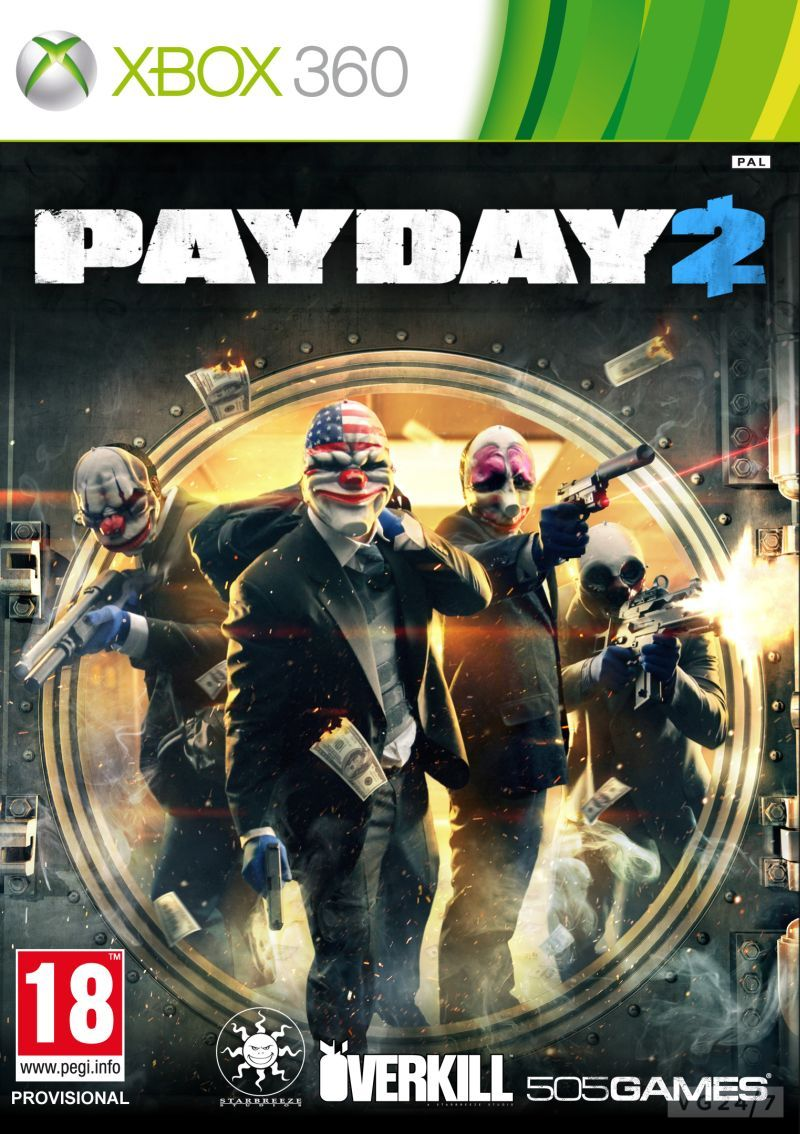 PAY Download   Jogo Payday 2 XBOX360 COMPLEX (2013)