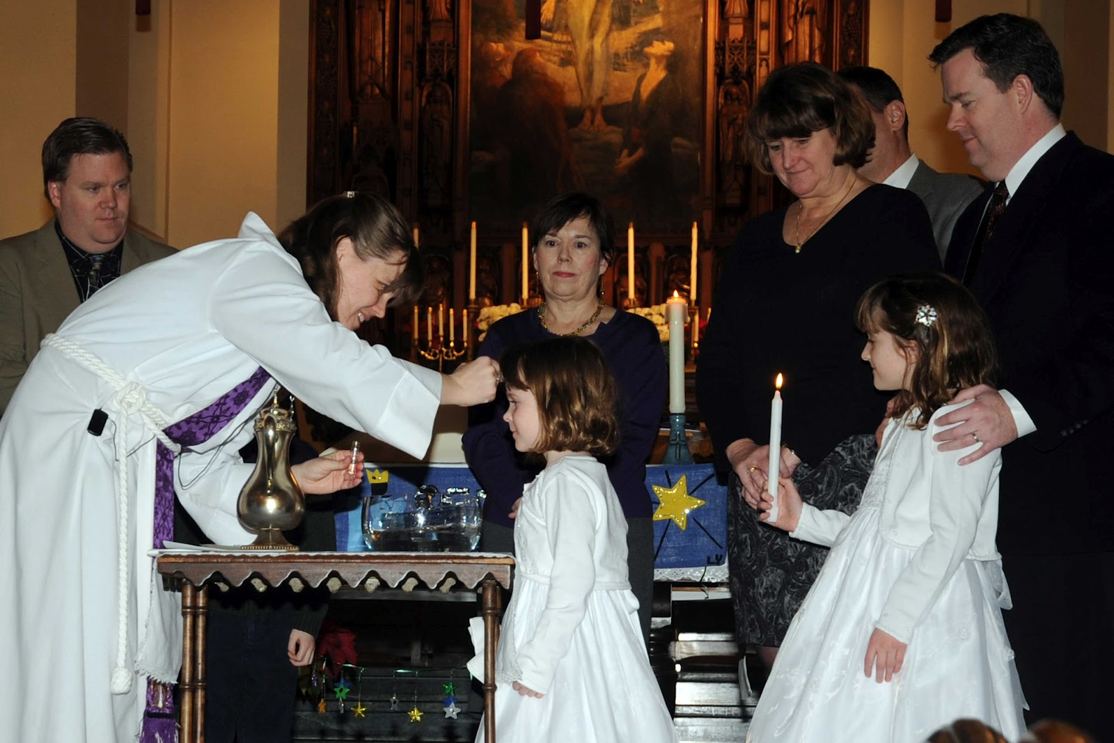 Falling in love with truth ceremony of lighting candle following the symbols of cleansing with water anointing with holy oil and clothing with white garment the symbolism of light is rich and meaningful buycottarizona Gallery