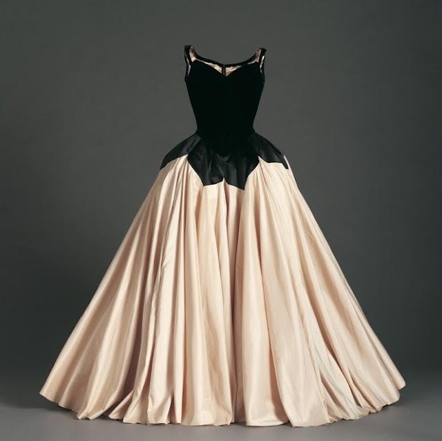 История моды, американский дизайн одежды, винтажное платье, Чарльз Джеймс