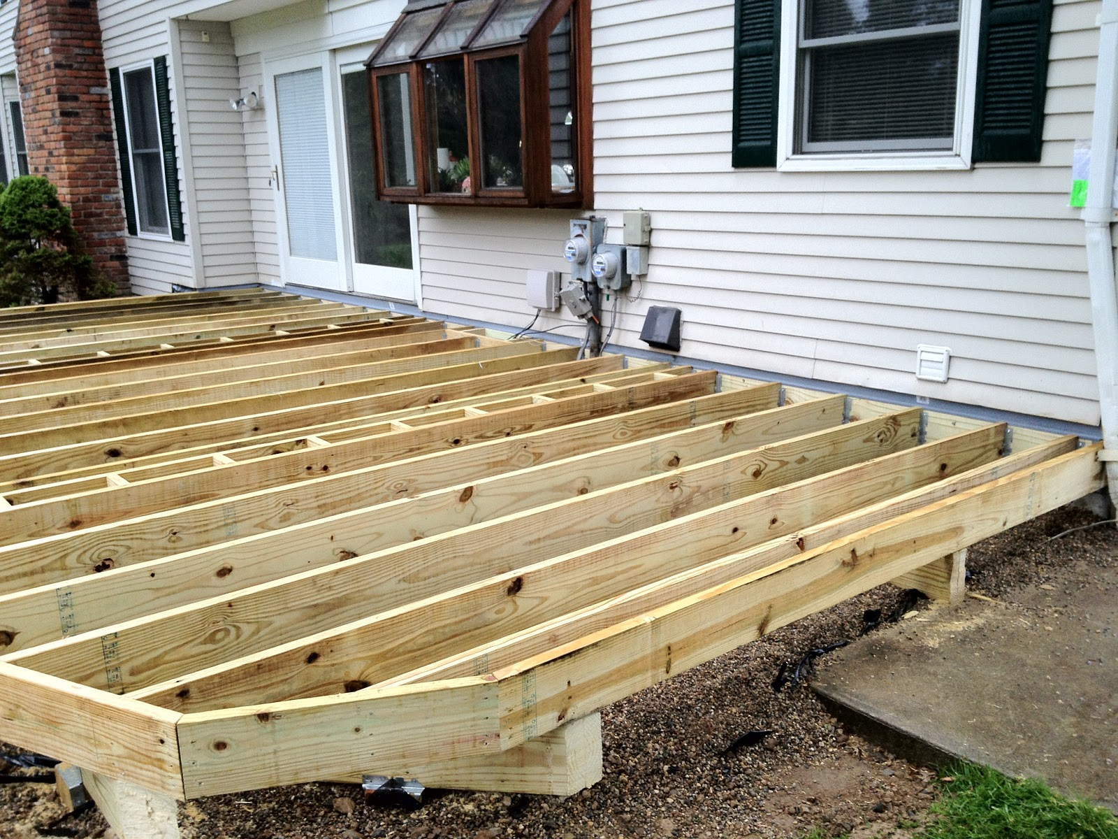 Framing Deck Board Width ~ Outdoor living replace your decking