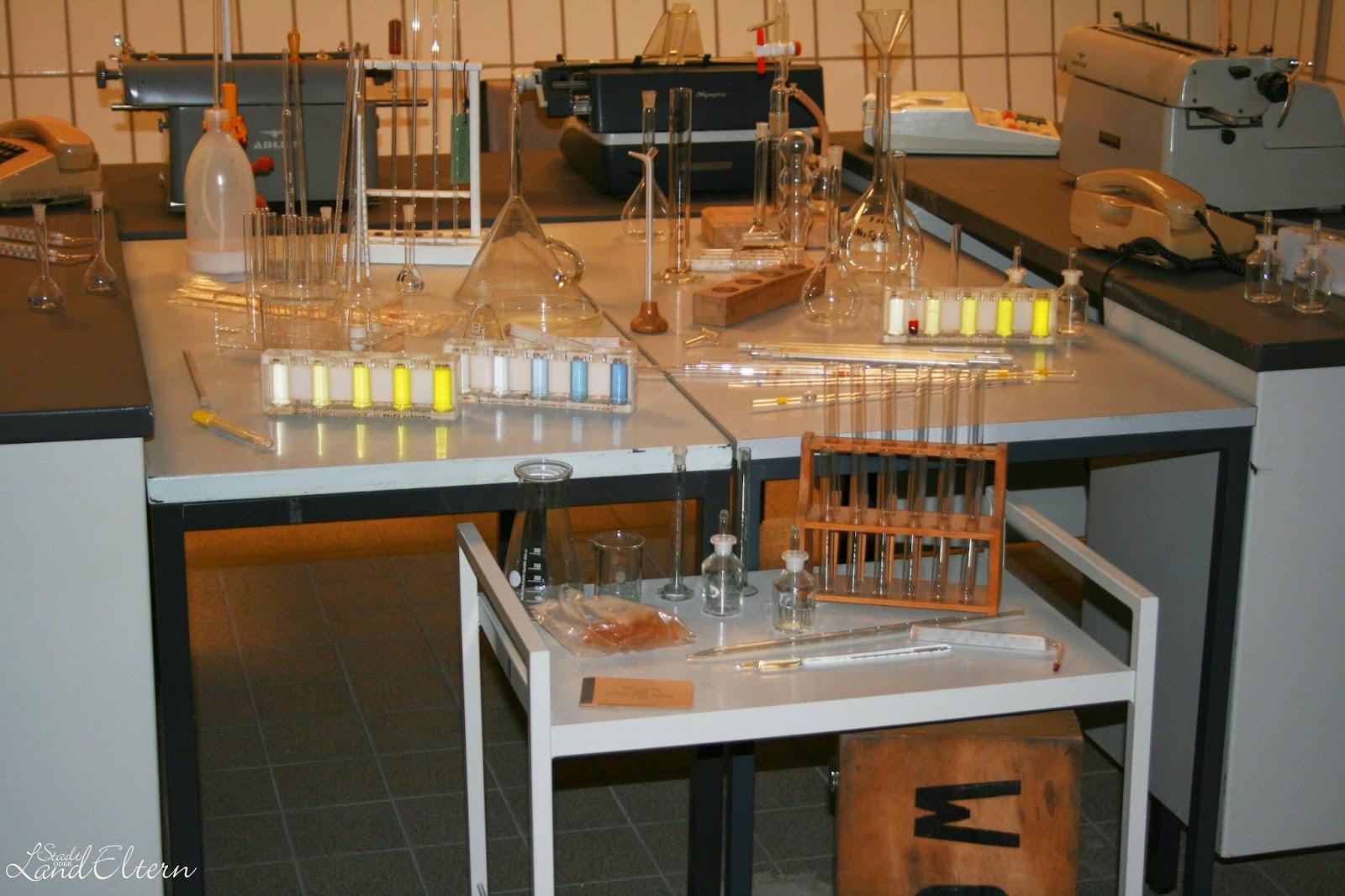 Dokumentationsstätte Regierungsstation Ahrweiler - Labor