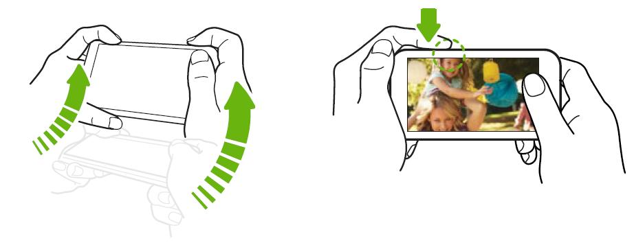 Come avviare fotocamera rapidamente su HTC One M9