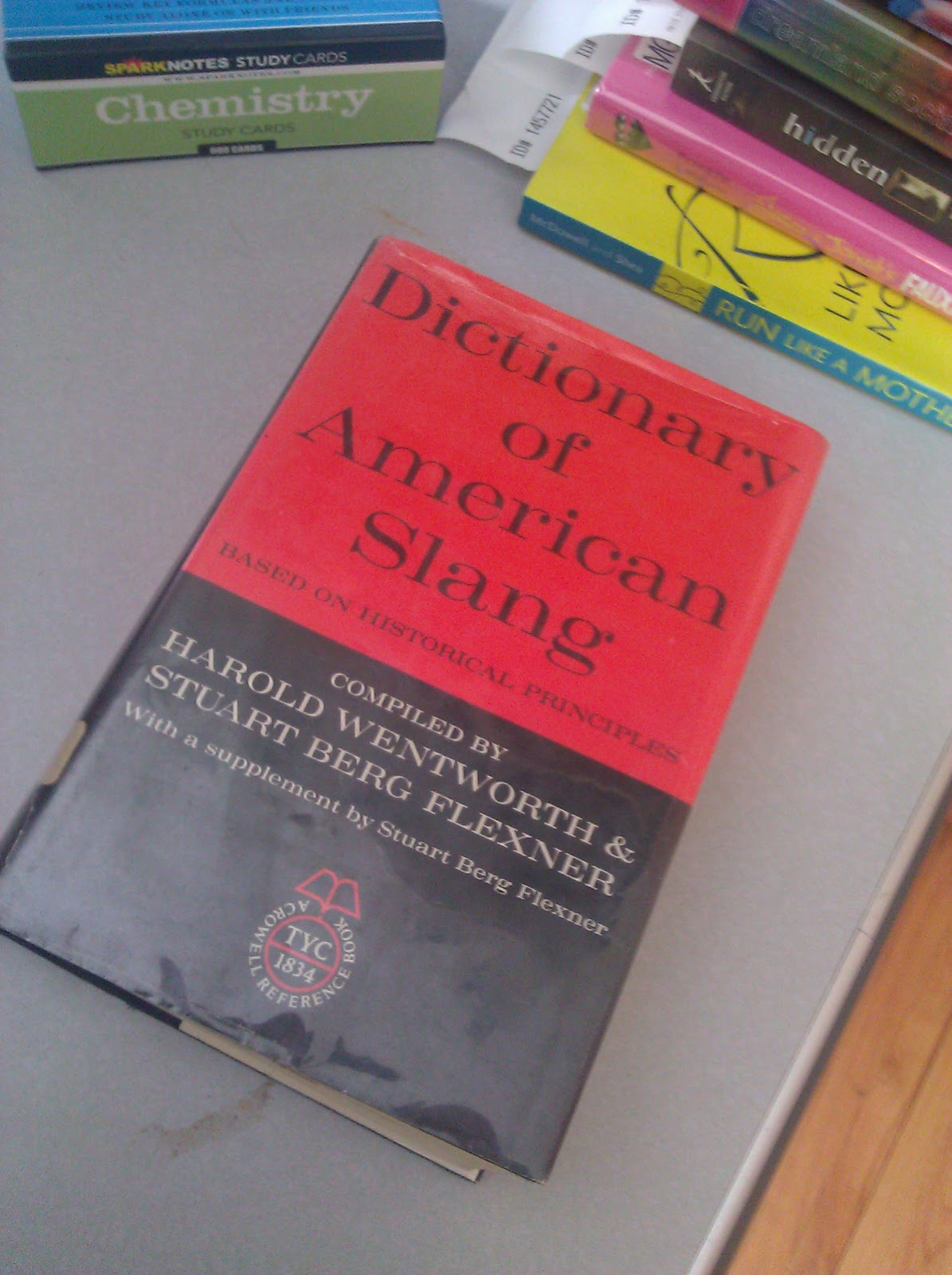 These posts are taken from this copy of The Dictionary of American Slang, ...