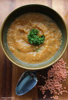 Red Lentil & Rutabaga Soup