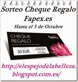 Sorteo Fapex.es
