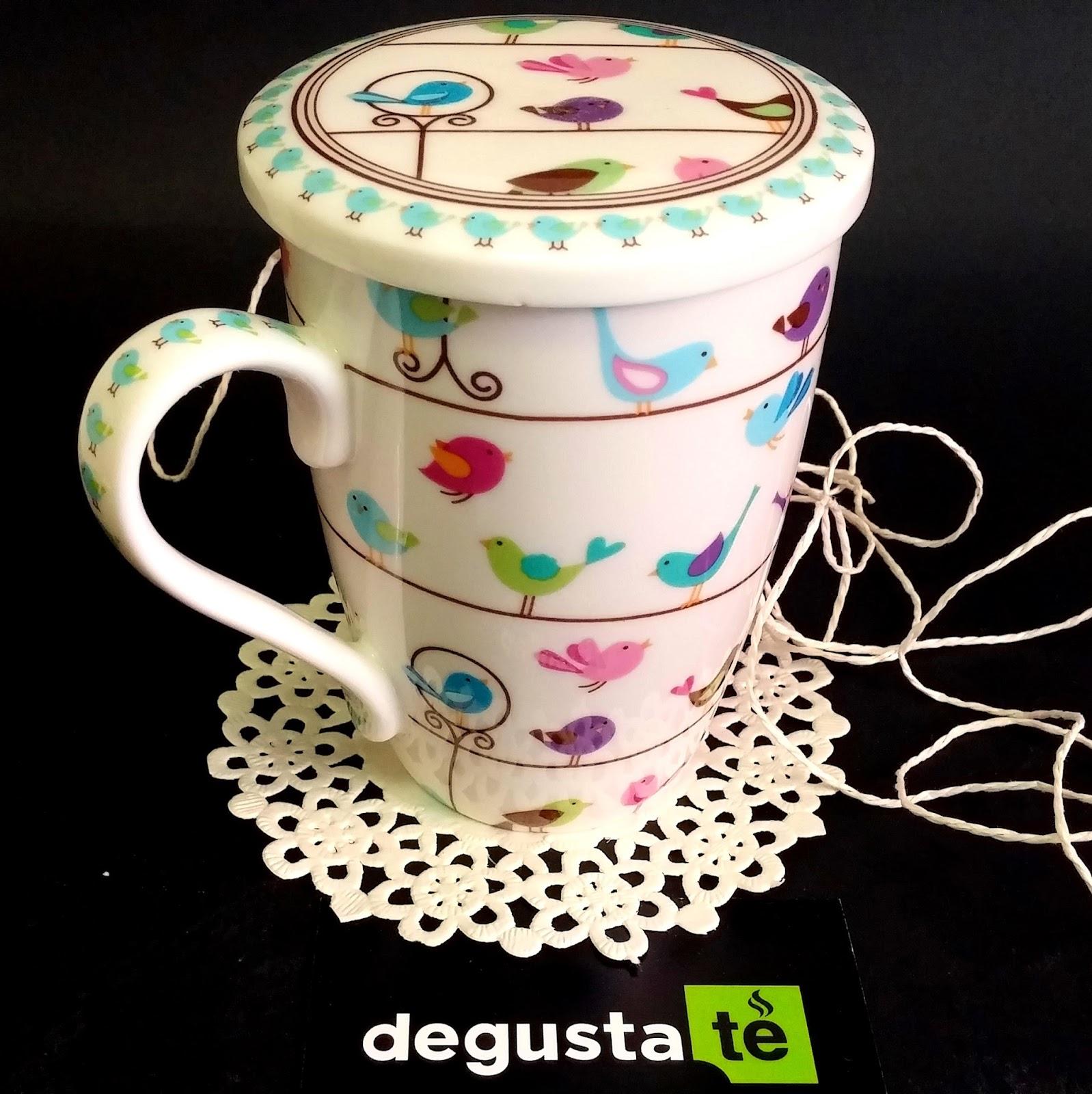 Club degustat tazas para t con filtro for Tazas de te inglesas