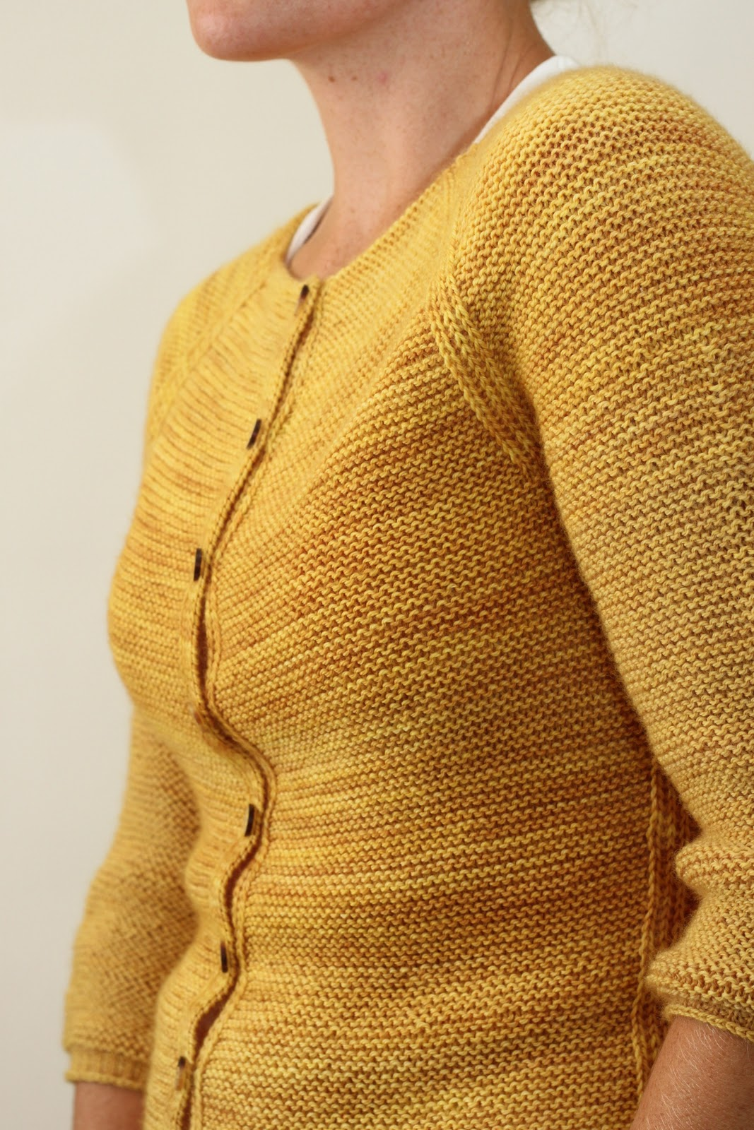 Show Garter Stitch Knitting : Jane Richmond Blog: Audrey