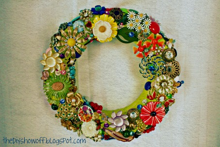 jewelry wreath