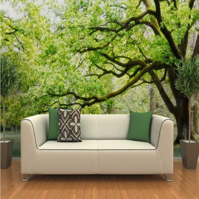 Nature in 3d for your interior walls furniture stores for 3d wallpaper for walls uk