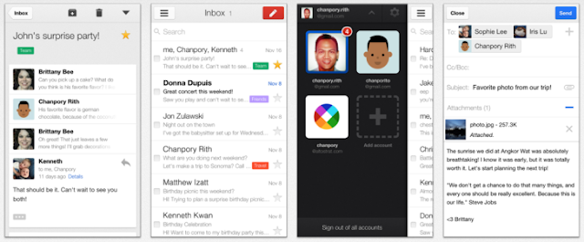 Gmail App 2.2.7182  for iOS