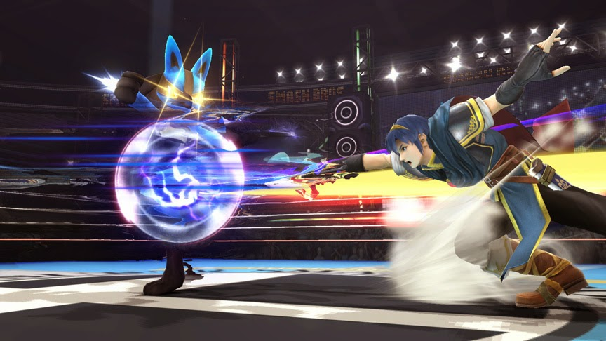 اسرار أسرار  Super Smash Bros 3DS
