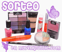 "Sorteo en el blog ""My Pinkbubble"""