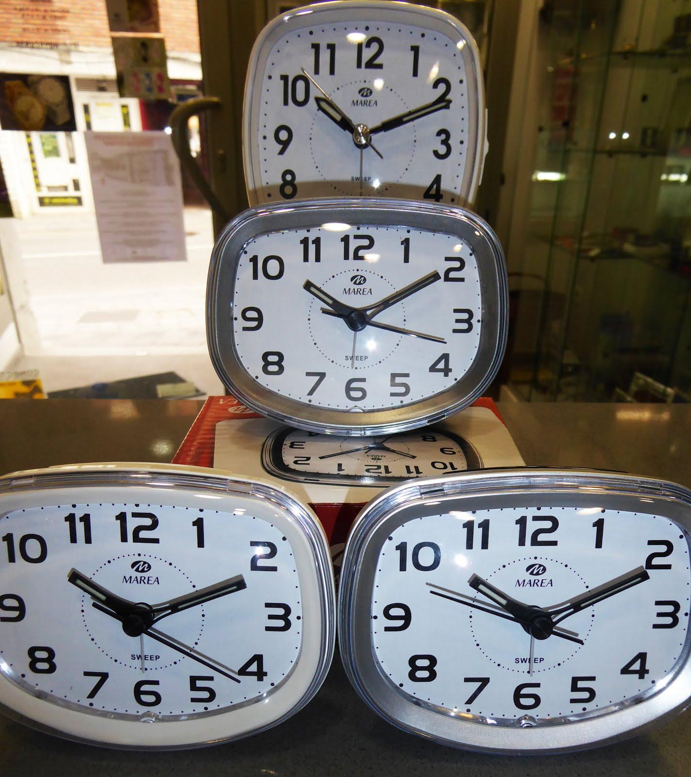 Despertadores Marea 15€