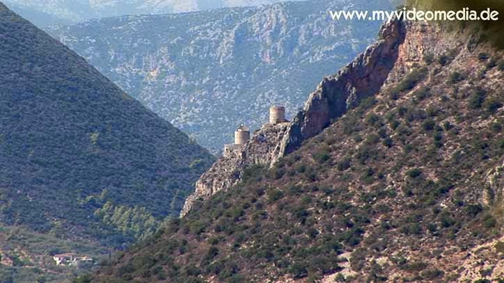 Watchtowers in Parnon mountains - Greece