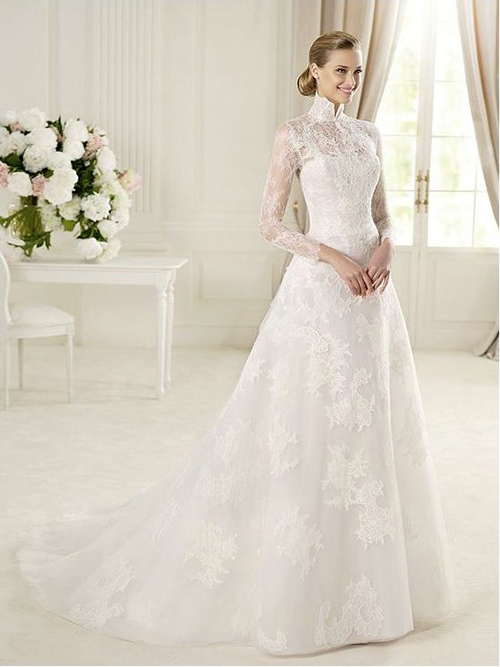 My Fancy Bride Blog Long Sleeves Wedding Dresses For Winter Wedding