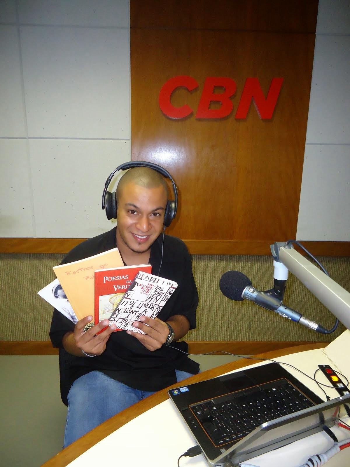 Hugo Paz na rádio CBN