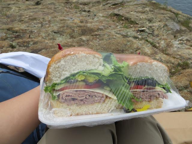 Sandwich from Adelmann's Deli