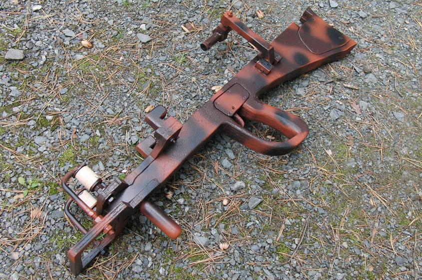 """Most compact """"lethal"""" slingshot crossbow? Camo2"""
