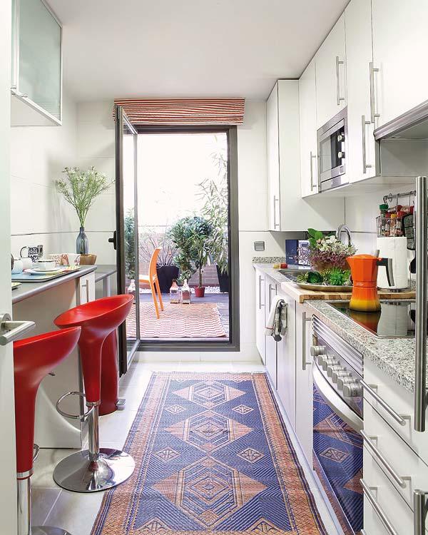 decoração de cozinha em vermelho, decorando com vermelho